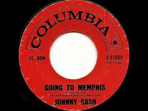 johnny cash going to memphis