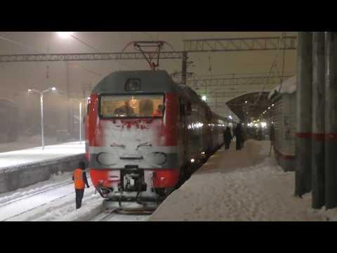 Московские вокзалы. Курский и Павелецкий вокзалы. Жизнь на вокзале. Снегопад 4 февраля 2018г.