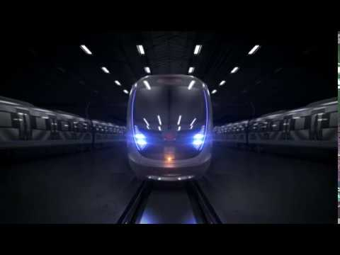CETROVO's demo revealed by CRRC at the InnoTrans 2018 in Berlin.
