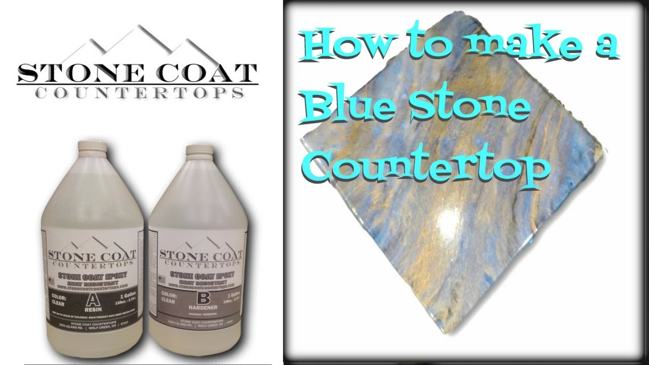 Blue Stone Countertop How To Make Blue Stone Counter Top Color Training