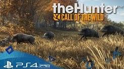 TheHunter: Call of the Wild PS4 🇩🇪 Wildschweine jagen - Let´s Play Deutsch