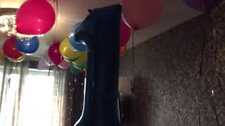 1 год дани шарики
