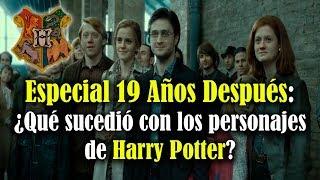 Especial 19 años después: ¿Qué sucedió con los personajes de Harry Potter?