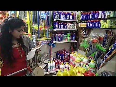 Dehradun Vlogger.... कितना ढूंढा लेकिन सिलबट्टा  मिला ही नहीं...grocery shopping