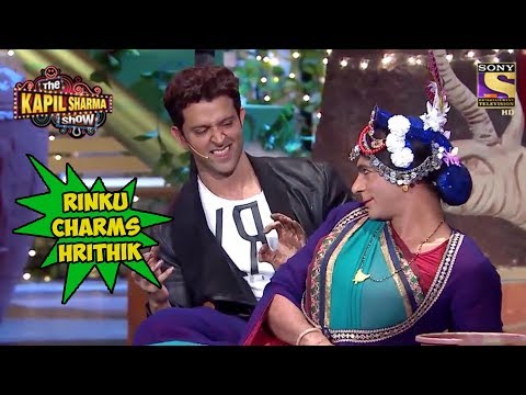 Rinku Devi Charms Hrithik Roshan - The Kapil Sharma Show