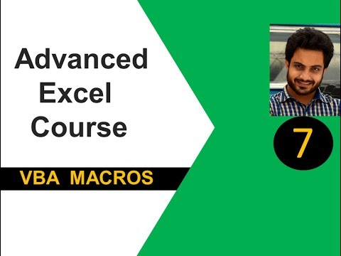 Advanced Excel(vba) Tutorial 7 : Conditional Statements (If..else..endif, Select Case)