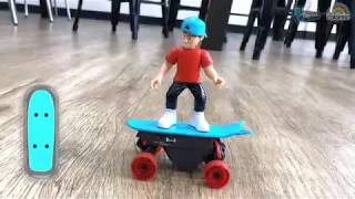 Real Control RC Skateboarding - How to do Auto Tricks