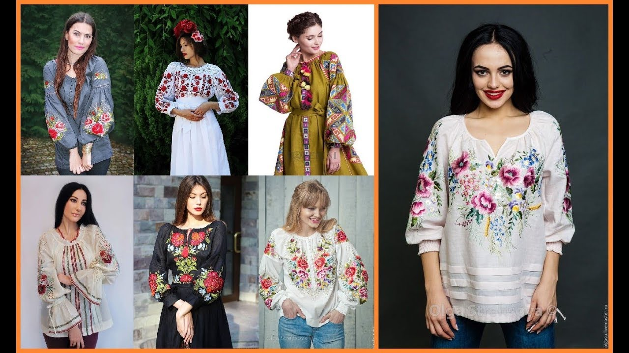 Stylish Embroidered Summer Tops And Shirts Design Ideas 2019-20