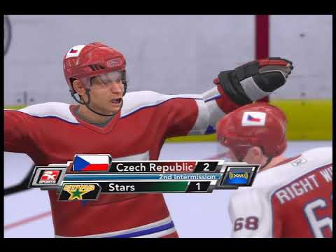 NHL 2K9 DALLAS STARS - CZECH REPUBLIC MATCH PART 2