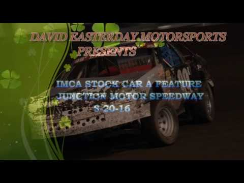 STOCK CAR A FEATURE MCCOOL 8 20 16 MOVIE