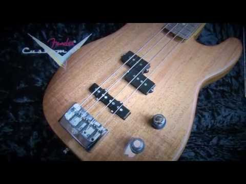 Bass Club Chicago Demo - Fender Artisan Series Postmodern Bass
