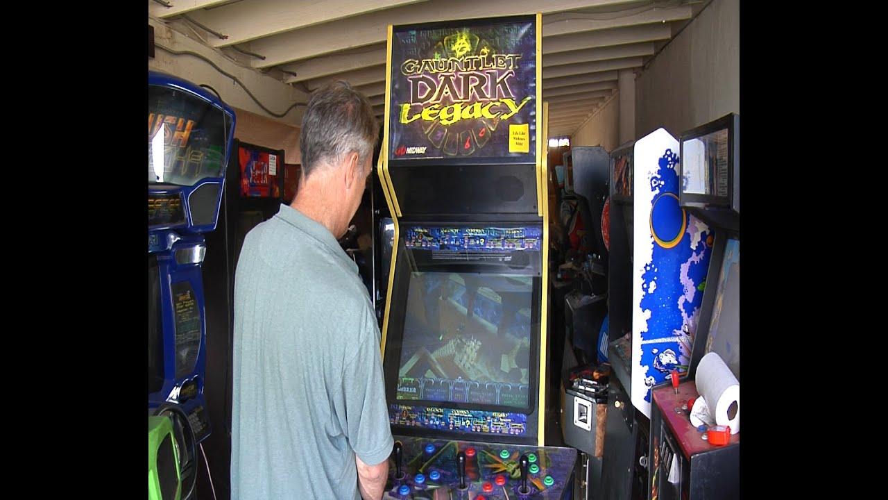 Gauntlet Dark Legacy Arcade Repair Episode 2 - YouTube