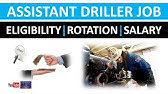 Driller Job | Eligibility | Rotation | Salary | Oil and Gas