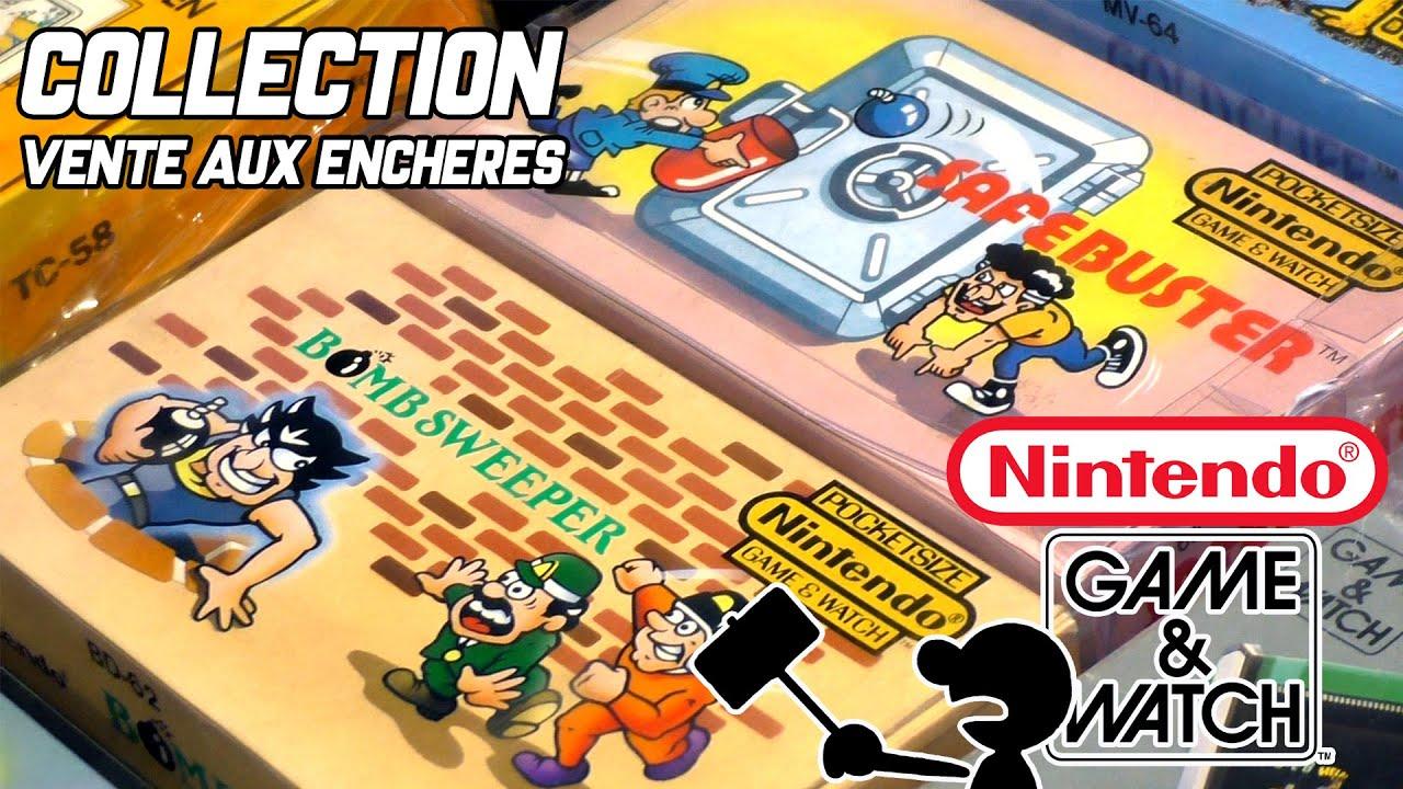 COLLECTION NINTENDO Game & Watch - vente aux enchères