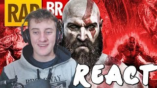 REACT Rap do God Of War | Tauz RapGame 01 (Player Tauz)