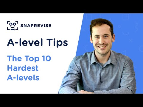 The Top 10 Hardest A-levels