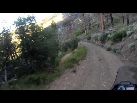 Yamaha XT660Z Tenere in Henry Mountains Utah 4