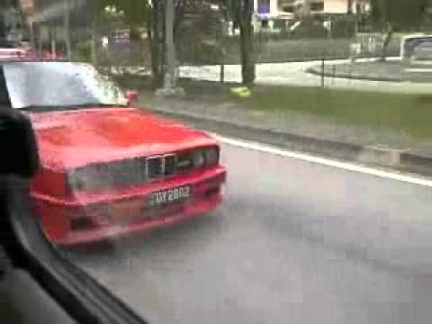 Bmw E30 M3 Spotted In Malaysia Youtube
