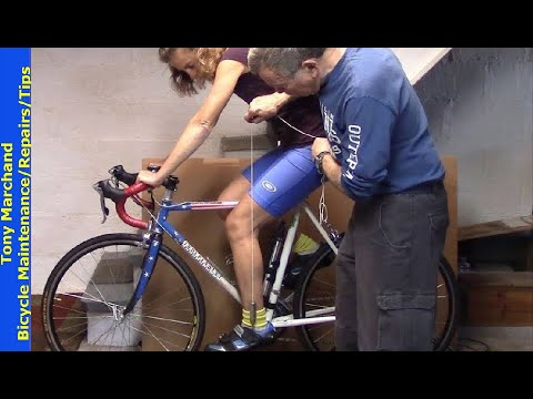 Bike Fit and Adjustments to Increase Comfort and Efficiency while cycling