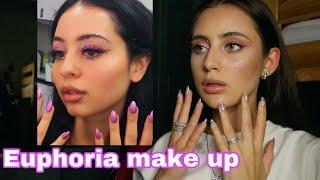 Euphoria makeup Макияж из сериала Эйфория Maddy make up