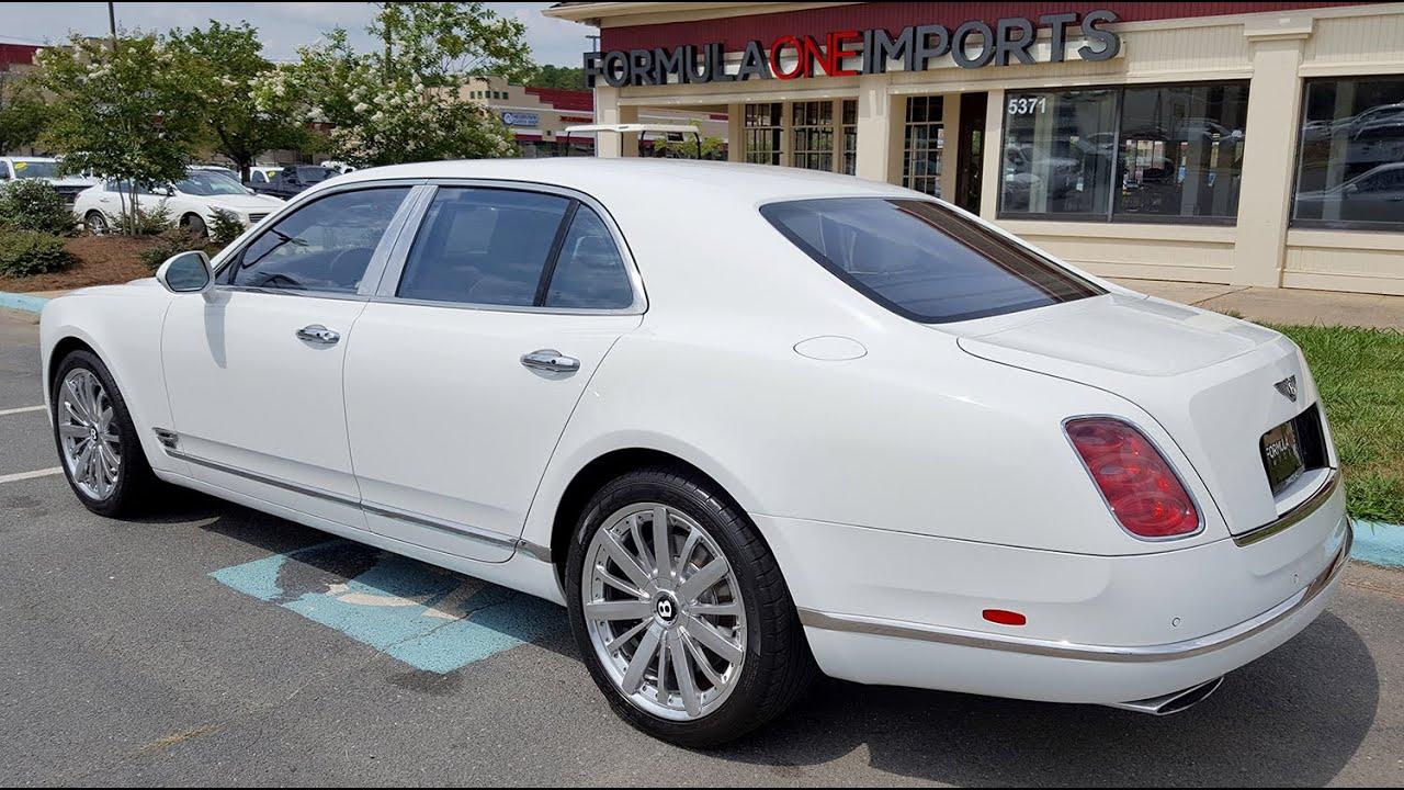2013 Bentley Mulsanne Mulliner - For Sale - Formula One Imports ...