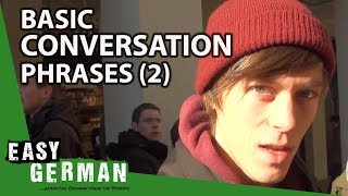 Easy German - Basic Conversation Phrases 2