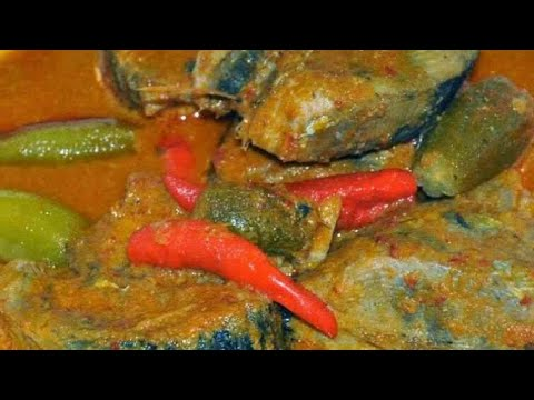 resepi gulai ikan tongkol Kelantan