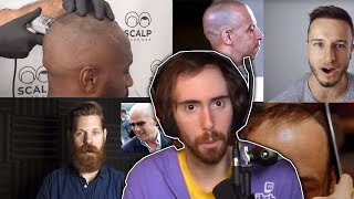 Asmongold Reacts to Hair Styling Videos