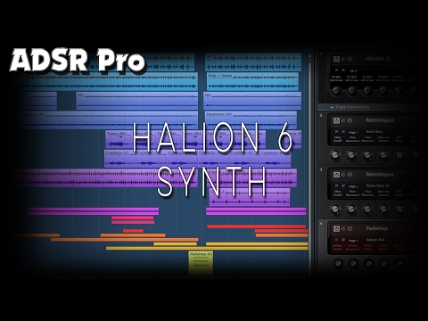 Steinberg Halion 6 Experimenting with the Synth Engine