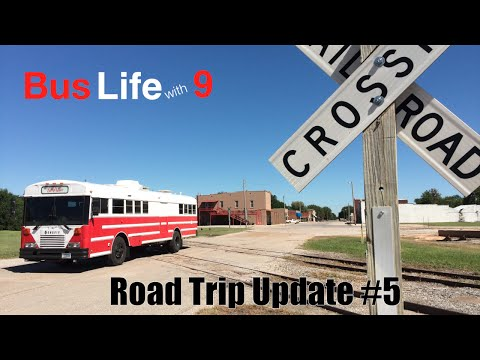 Finding Forgotten Towns | Traveling Across North America | Bus Life