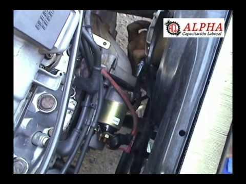 C 243 Mo Retirar El Motor De Arranque Youtube
