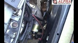 Cómo retirar el motor de arranque