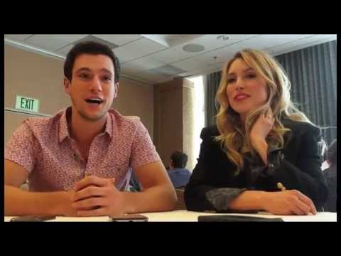 Drew Roy and Sarah Carter Interview - Falling Skies