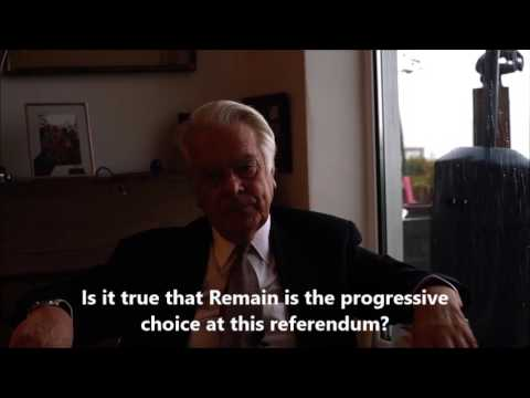 Lord Owen on how the EU crushed Greece and why its a joke to call the EU 'progressive' #Brexit