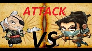 SvZ defense 2 - Multiplay - KUNOICHI vs DAIMYO - ATTACK
