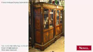 French Antique Display Cabinet/vitrine Louis Xvi Cabinets