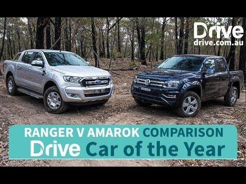2017 Ford Ranger, Volkswagen Amarok   2017 Best Ute - Dauer: 4 Minuten, 25 Sekunden