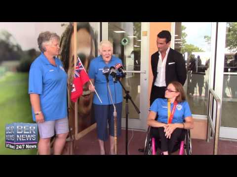 Gold Medalist Jessica Lewis Returns Home, August 17 2015