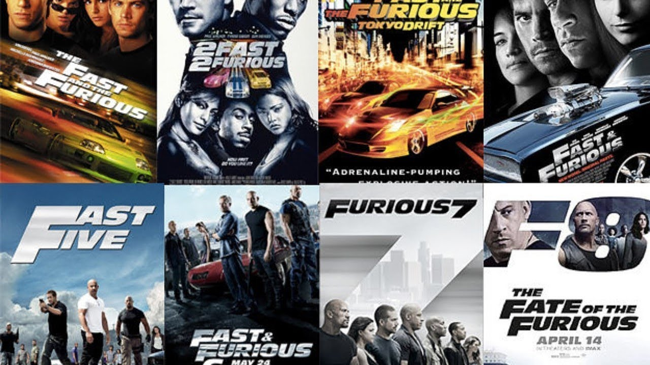 Image result for fast & furious all parts