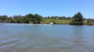 New boat stacer streaker v17