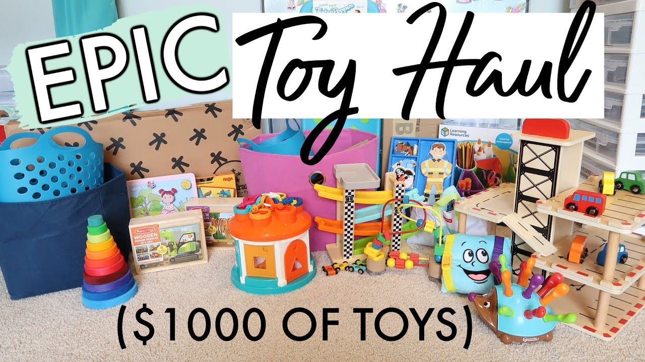 I Spent 1000 On Toys For My Daycare Gift Ideas For Kids 0 5 Youtube