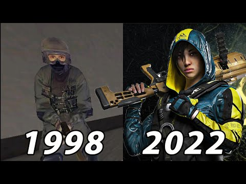 Evolution Of Tom Clancy's Games 1998-2022  