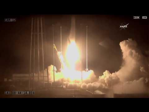 Orbital ATK Antares rocket launch, 5/21/18