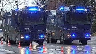 [Stadtderby HSV vs. St. Pauli] Großeinsatz Polizei Hamburg