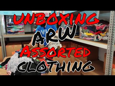 Unboxing: ARW Department Store Assorted Clothing