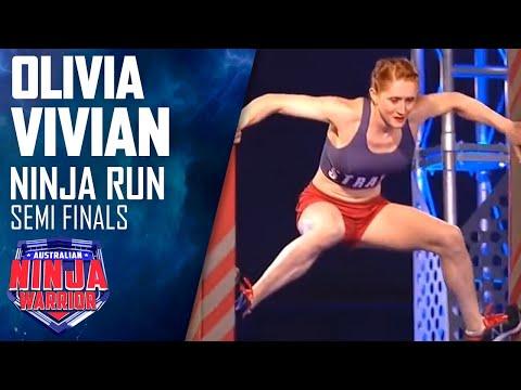 Ninja run: Olivia Vivian (Semi final) | Australian Ninja Warrior 2018 Mp3