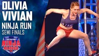 Gambar cover Ninja run: Olivia Vivian (Semi final) | Australian Ninja Warrior 2018