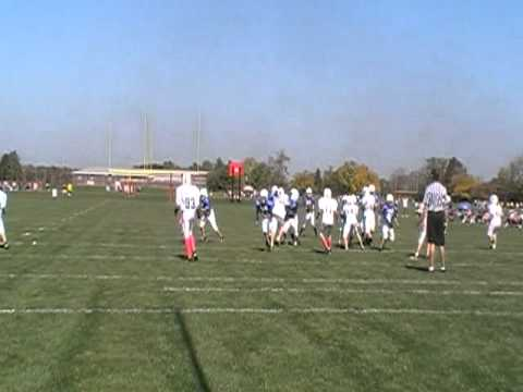 NPCFL Colts 2011 Sellers TD Catch