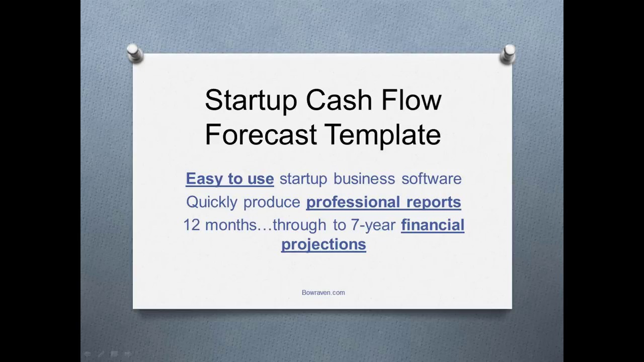 Startup cash flow forecast template youtube startup cash flow forecast template pronofoot35fo Gallery