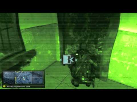 Mission 1: Iceland - Geothermal Plant - Hard - Splinter Cell: Double Agent Walkthrough [HD]
